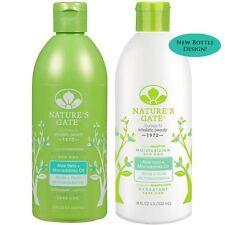Natures Gate All Natural Organic Aloe Vera + Macadamia Shampoo and Conditioner
