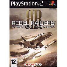 Rebel Raiders: Operation Nighthawk For PlayStation 2 PS2 6E