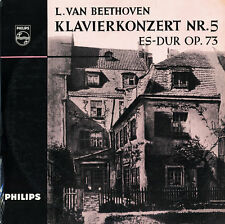 BEETHOVEN Piano Concerto 5 DE GROOT OTTERLOO Philips S-4005 $4 Shipping WWIDE