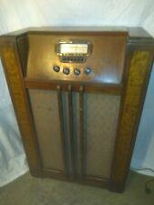 Vintage Motorola Console Tube Radio With Television Connection Aero Vane Antenna