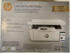 HP LASERJET PRO MFP M29W WIRELESS B/W AIO LASER PRINTER FACTORY SEALED RETAIL!!!