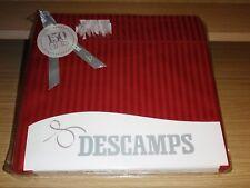 """Descamps """"Corfou - Azalée"""" Drap Plat - Satin de Coton - New !"""