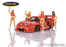 Set Figuren 1:43 Hawaiian Tropic Girls Le Mans, Le Mans Miniatures 1:43