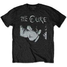 OFFICIAL LICENSED - THE CURE - ROBERT SMITH ILLUSTRATION T SHIRT GOTH POP