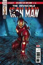 Invincible Iron Man Legacy # 593 Regular Cover Marvel NM