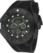 Invicta Men's Coalition Forces 53mm Black Silicone Band Quartz Watch 23963