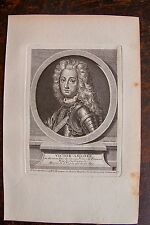 VICTOR AMEDEE 21 DU NOM DUC DE SAVOIE . PORTRAIT, GRAVURE ORIGINALE , 1760