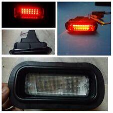 Honda Civic Acura Accord Rear Bumper Clear Fog Brake Light Lamp EK9 EG6 LED EG