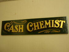 Apothecary Chemist Poison wood sign
