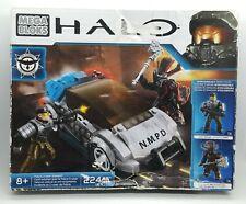BOX DAMAGE NEW MEGA BLOKS Halo NMPD N.M.P.D. Police Cruiser Standoff CYY42
