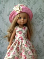 """Clothes for Corolle les Cheries,Paola Reina Outfit~13""""Doll Dress and Hat"""