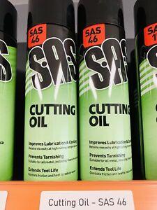 6 x SAS Cutting Oil Spray 500ml Cutting Fluid Lubricant - SAS46