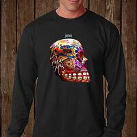 New James Rock Band La Petite Mort Men's Long Sleeve Black T-Shirt Size S-3XL