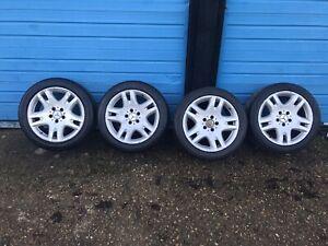 "17"" Mercedes E Class W211 Alloy Wheels"