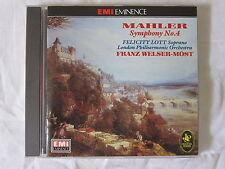 Mahler Symphony No 4 Felicity Lott Franz Welser-Most London Philharmonic Orch CD