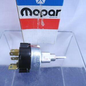 NOS 2 Speed Wiper Switch 1968-71 Dart Valiant 1968-69 Cuda 70-71 Duster 2864415