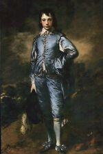 The Blue Boy, 1779, Portrait in Oil by Thomas Gainsborough, Art, Hat -- Postcard
