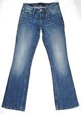 Levis Womens Jeans 528 Curvy Boot Cut Stretch Distress Low Rise Size 7 M 27 x 32