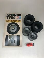 Tamiya 50076 Rear Wheel & Tyre Set - Lamborghini Countach CS 58008 Vintage NIB