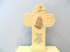 PRECIOUS MOMENTS MONTHLY STANDING CROSS - JUNE / PEARL