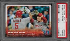 2015 Topps Update US213 MIKE TROUT - ALBERT PUJOLS Home Run Halo Gem Mint PSA 10