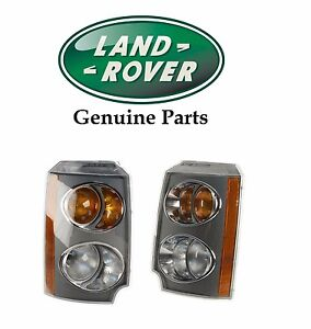 For Land Rover Range Rover Set of Front Left & Right Turn Signal Assemblies