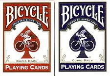 12 New Bicycle CUPID GOLD TRIM Playing Cards Red/ Blue USPC!