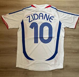 France World Cup Final 2006 Shirt Zidane #10 (L)