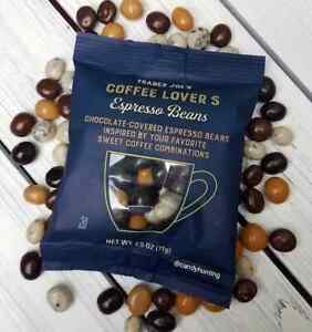 NEW 3 Trader Joe's Coffee Lovers Chocolate Covered Espresso Beans