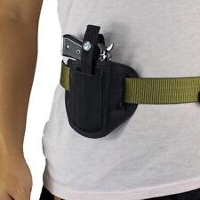 Tactical Deep Concealment Pistol Holster for Compact Subcompact Handguns