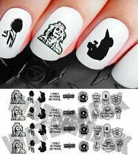Halloween Nail Decals Stickers beetlejuice lydia unusual NAIL ART set 227