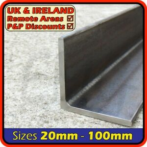 Mild Steel Angle Section [Equal]║20mm⫽25mm⫽30mm⫽40mm⫽50mm⫽75mm⫽100mm