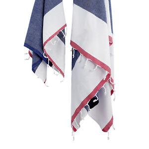 Happy Friday My Jeans Hammam Towel Set Blue SS04 63