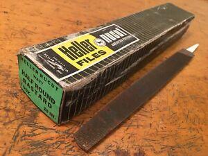 Vintage Heller Nucut Half Round Bastard Files 9 New in Box