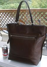 Authentic TOD'S Large Brown Shopper Tote Bag $1095 RTL - SOLD OUT!
