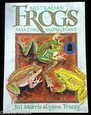 Australian Frogs Amazing Amphibians Green Tree Frog Rare Size Charts Tracey