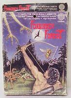 1983 COSMI FORBIDDEN FOREST VINTAGE COMPUTER PROGRAM CASSETTE IN ORIGINAL BOX
