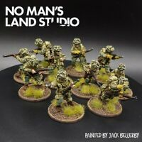 Pro Painted 28mm Bolt Action Us Airborne Squad D-day Warlord Games Ww2