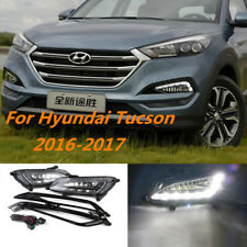 LED DRL Daytime Running Light Driving Lamp For Hyundai Tucson 2015-2017 2016