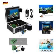 """9"""" 30LEDs 1000TVL Monitor Unterwasser Kamera 30m Fischfinder Angeln Kamera 90° A"""