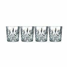 Marquis by Waterford Markham Double Old Fashioned Glasses, Set of 4 , New, Free