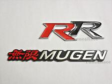 Honda Mugen RR emblem Red logo badge Sticker Civic Accord SI SIR JDM New