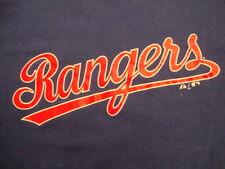 MLB Texas Rangers Baseball NOLAN RYAN 34 Re-Issue Sports Fan Blue T Shirt Size M