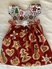 New listing Candy Cane Cookies Holiday Baking Red Green Kitchen Oven Door Towel Cotton Dress