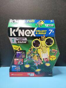 2009 Knex Moto-bot Series 1 Razor OPEN EMPTY BOX.  ONLY THE BOX!!!!