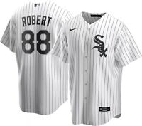 Brand New MLB 2021 Chicago White Sox Luis Robert Nike Home Replica Team Jersey