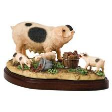 Border Fine Arts James Herriot Tasty Tatties Pigs Figurine New Boxed A26261