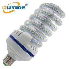 OUYIDE 250 Watt Equivalent A19 Spiral LED Bulbs 30W Daylight 6000K LED Corn