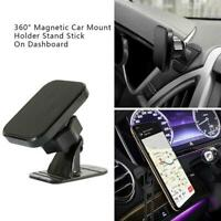 Universal 360° Magnetic Car Mount Cell Phone Holder Stand Dashboard For-iPhone