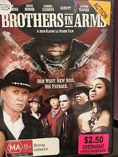 Brothers In Arms ex-rental region 4 DVD (2005 David Carradine western movie)